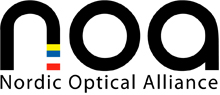 Logo NOA: Nordic Optical Alliance